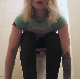 A Bulgarian girl sits down on a toilet, farts, pisses, and takes a shit. Some plops are heard before she finally wipes her ass. Some background movement noise. Her face and product is not visible in this clip. Presented in 720P HD. Over 9.5 minutes.
